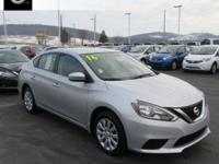 2016 Nissan Sentra FE+ S Williamsport area. BLUETOOTH,