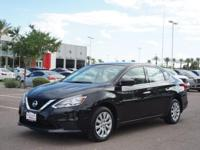 This 2016 Nissan Sentra is complete with top-features