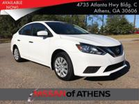 Check out this 2016 Nissan Sentra S. Its Variable