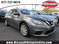 Look at this 2016 Nissan Sentra S. Its Manual