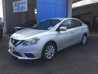This 2016 Nissan Sentra SV is offered to you for sale