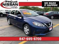 2016 Nissan Sentra S Clean Vehicle History, Bluetooth,
