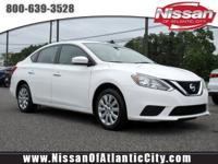 Look at this 2016 Nissan Sentra S. Its CVT with Xtronic