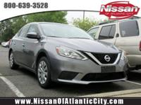 Come see this 2016 Nissan Sentra S. Its Variable