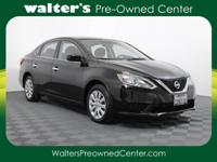 Options:  2016 Nissan Sentra|Black/Black|V4 1.8 L