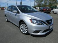 Options:  2016 Nissan Sentra S|1.8L I4 16V|Continuously