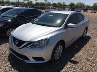 Get ready to go for a ride in this 2016 Nissan Sentra