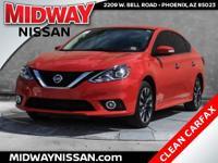 New Price!2016 Nissan Sentra SR Red Alert 1.8L