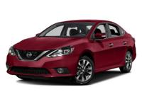 This 2016 Nissan Sentra SR in Super Black features: