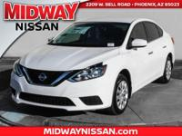 2016 Nissan Sentra S CVT with Xtronic, Charcoal w/Cloth