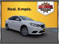 Nissan Sentra 29/38mpg Awards: * 2016 IIHS Top Safety