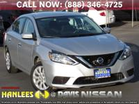 Options:  2016 Nissan Sentra Sv|Silver|Check Out This