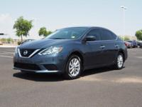 This 2016 Nissan Sentra SV includes a push button