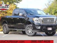 2016 Nissan Titan XD Magnetic Black  CARFAX One-Owner.