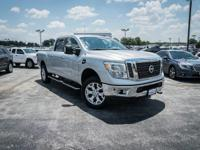 CARFAX One-Owner. Brilliant Silver 2016 Nissan Titan XD