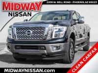 2016 Nissan Titan XD Platinum Reserve Magnetic Black