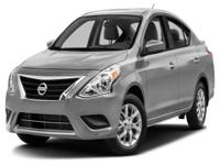 Options:  2016 Nissan Versa 1.6 S|This 2016 Nissan