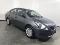 CARFAX One-Owner. Clean CARFAX. Gray 2016 Nissan Versa