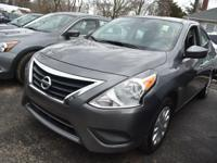 This 2016 Nissan Versa S has an exterior color of GY.