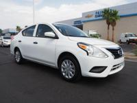 Look at this 2016 Nissan Versa S. Its Automatic