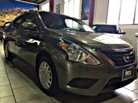 This outstanding example of a 2016 Nissan Versa SV is