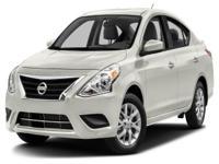 Options:  2016 Nissan Versa 1.6 S|Miles: 36641Color: