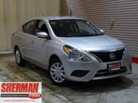 PREMIUM & KEY FEATURES ON THIS 2016 Nissan Versa