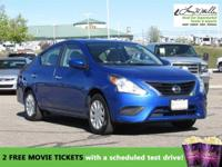 CarFax 1-Owner, This 2016 Nissan Versa will sell fast