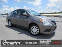 This 2016 Nissan Versa SV will sell fast -Bluetooth ABS