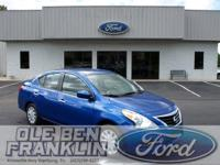 Options:  2016 Nissan Versa S|Blue/|V4 1.6 L