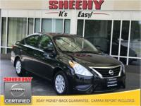 New Price! 2016 Nissan Versa 1.6 S Plus CARFAX