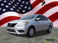 Options:  2016 Nissan Versa 1.6 Sv|1.6 Sv 4Dr
