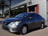 For a smoother ride, opt for this 2016 Nissan Versa 1.6