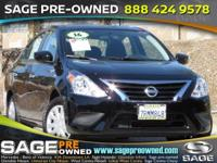 Introducing the 2016 Nissan Versa! The safety you need