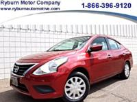 *Your ONE OWNER Nissan Versa awaits your arrival!**1.6L