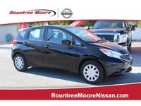 CARFAX One-Owner. Clean CARFAX. Super Black 2016 Nissan