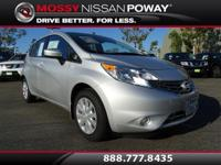 Versa Note S Plus, Nissan Certified Pre-Owned