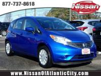 Look at this 2016 Nissan Versa Note SV. Its Variable