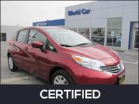 Nissan Certified, CARFAX 1-Owner, Excellent Condition,