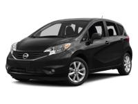 Options:  2016 Nissan Versa Note|Super Black/|V4 1.6 L