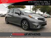 Check out this 2016 Nissan Versa Note SR. Its Variable