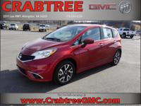 Options:  2016 Nissan Versa Note Sr|Sr 4Dr