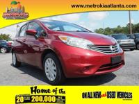This 2016 Nissan Versa Note SV is complete with