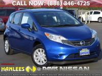 Options:  2016 Nissan Versa Note Sv|Blue|Check Out This