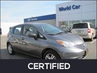 CARFAX 1-Owner, Excellent Condition, Nissan Certified,