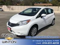 This used Nissan Versa Note SV is now for sale in San