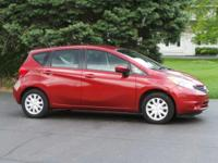 Options:  2016 Nissan Versa Note Sv|Cayenne Red/|V4 1.6