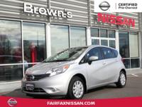 2016 VERSA NOTE S ** ONE OWNER ** CARFAX CERTIFIED NO