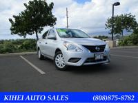 2016 nissan versa s! 5sp manual transmission! Great on