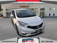 This 2016 Nissan Versa Note is in great mechanical and